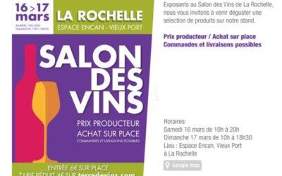 Salon Terre de Vins – la Rochelle